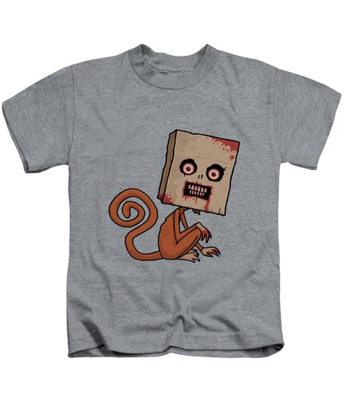 Psycho Sack Monkey Kids T-Shirt