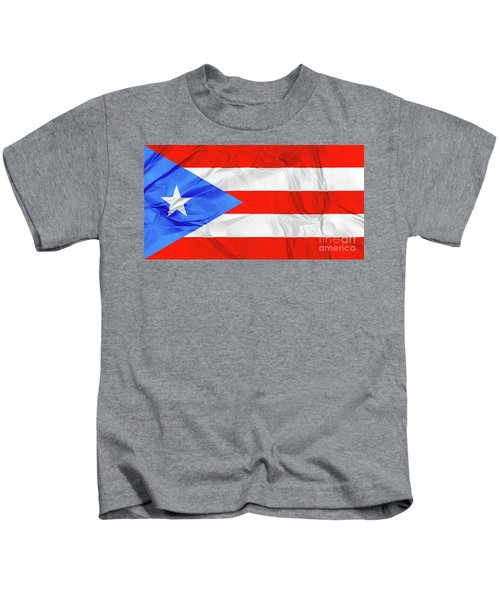 Puerto Rico Flag Kids T-Shirt