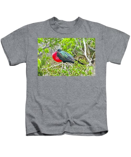 Puffing Up When Courting Kids T-Shirt