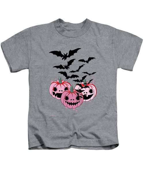 Pumpkin  Kids T-Shirt by Mark Ashkenazi