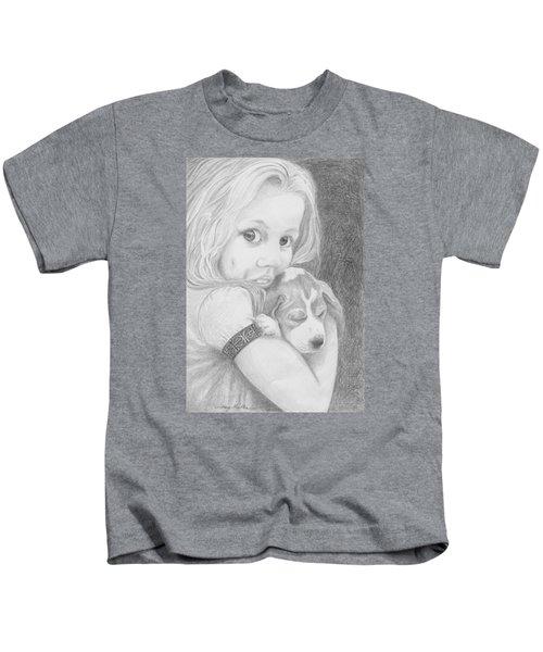 Puppy Dog Eyes Kids T-Shirt