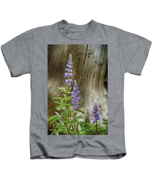 Purple Lupine Kids T-Shirt
