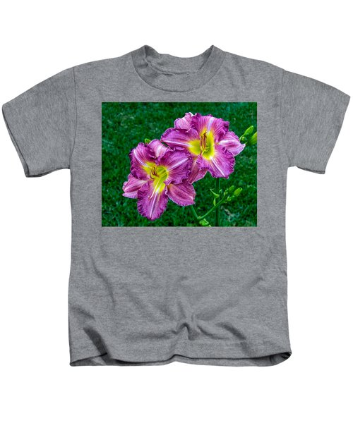 Purple Pair Kids T-Shirt