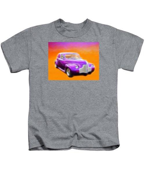 Purple Shadow Cruiser Kids T-Shirt