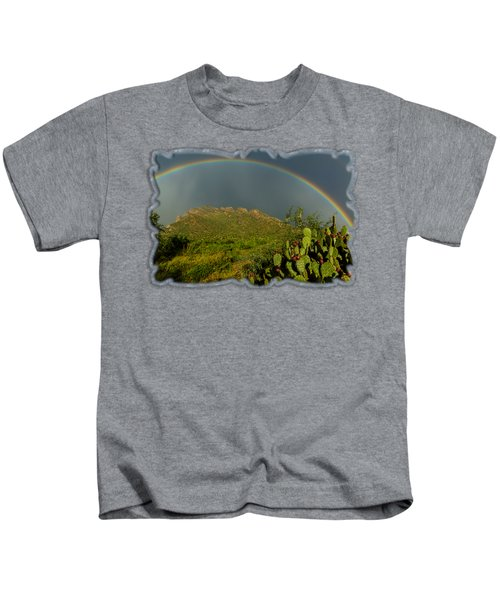 Pusch Ridge Rainbow H38 Kids T-Shirt