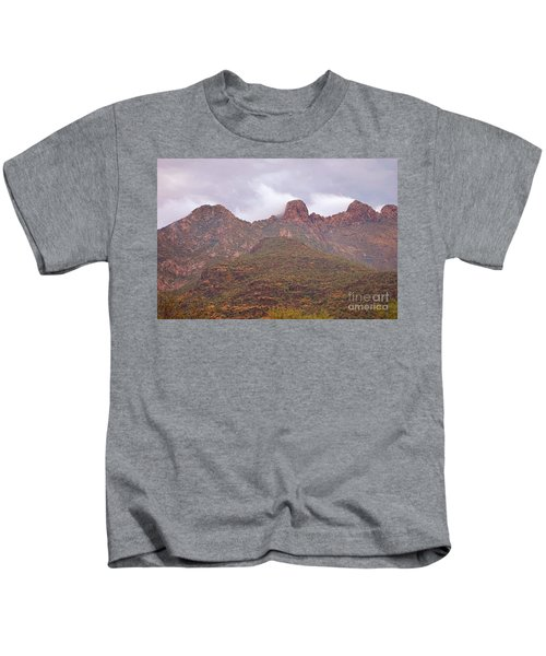 Pusch Ridge Tucson Arizona Kids T-Shirt