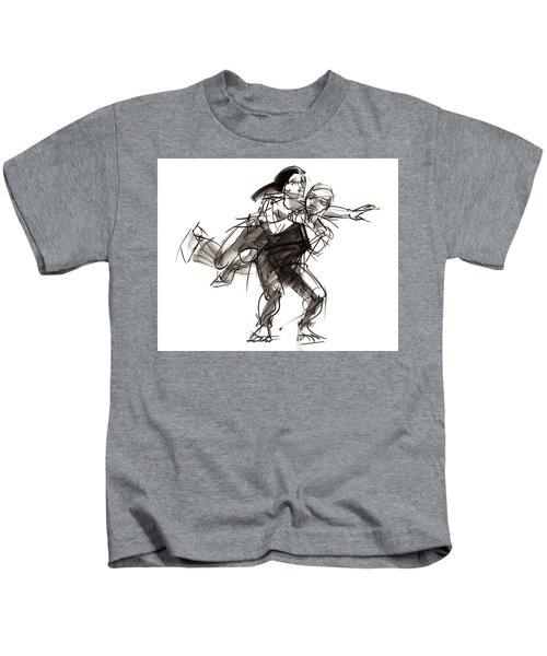 Puzzle Pieces Four Kids T-Shirt