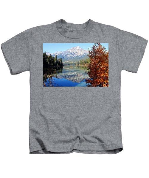 Pyramid Mountain Reflection 3 Kids T-Shirt