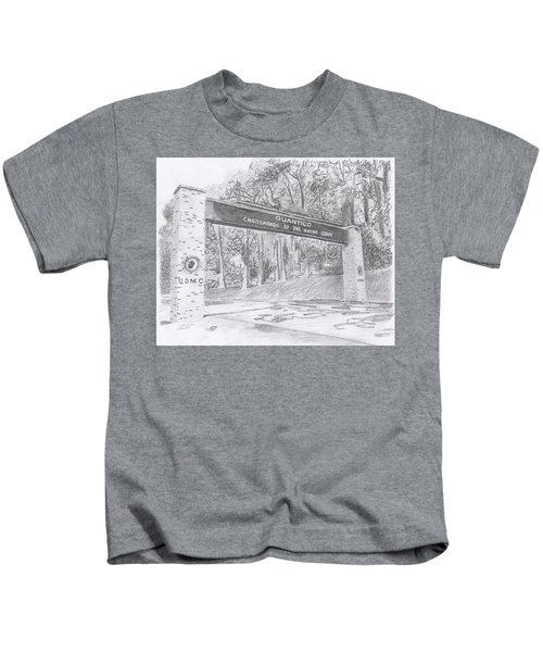 Quantico Welcome Graphite Kids T-Shirt