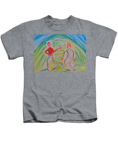 Quantum Entanglement Kids T-Shirt