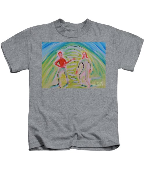 Quantum Entanglement Kids T-Shirt