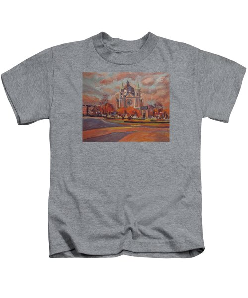 Queen Emma Square In Autumn Colours Kids T-Shirt