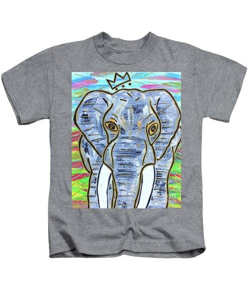 Queen Of The Jungle Kids T-Shirt