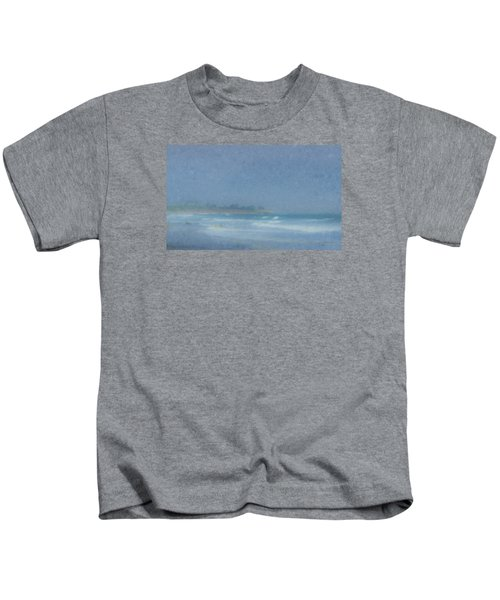 Foggy Afternoon At Little Compton Ri Kids T-Shirt