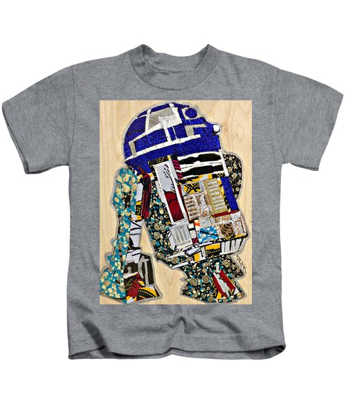 R2-d2 Star Wars Afrofuturist Collection Kids T-Shirt