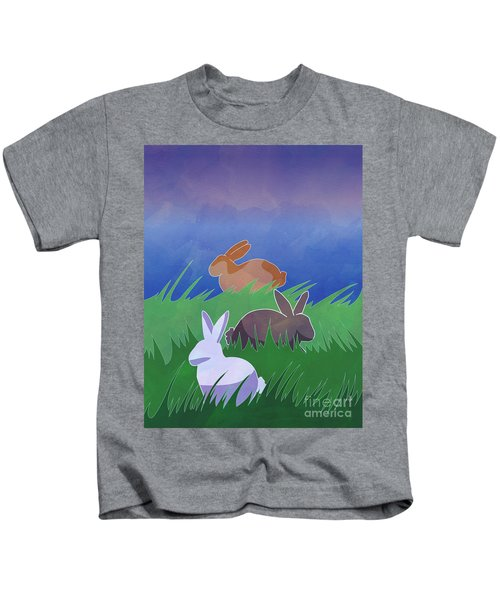 Rabbits Rabbits Rabbits Kids T-Shirt