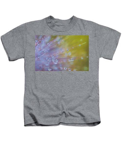 Rain Drops - 9753 Kids T-Shirt