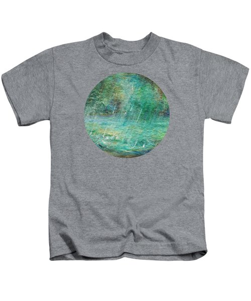 Rain On The Pond Kids T-Shirt