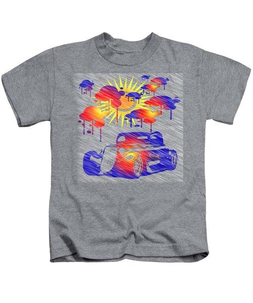 Rain Showers Kids T-Shirt