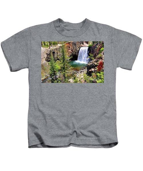 Rainbow Falls 1 Kids T-Shirt