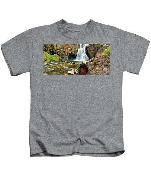 Rainbow Falls 2 Kids T-Shirt