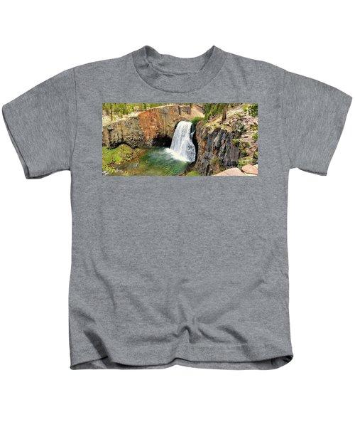 Rainbow Falls 3 Kids T-Shirt