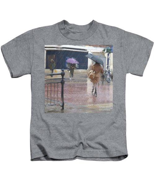 Raining All Around Kids T-Shirt