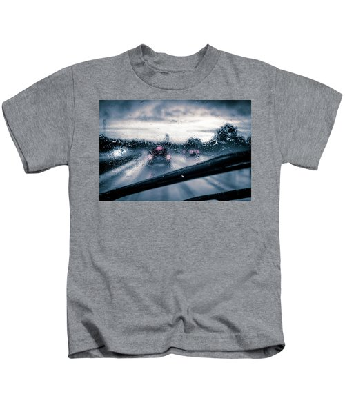Rainy Day In July Kids T-Shirt