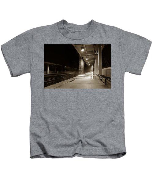 Rainy Night In Baltimore Kids T-Shirt
