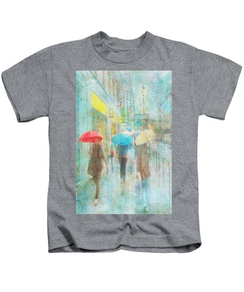 Rainy In Paris 5 Kids T-Shirt
