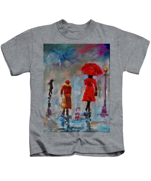 Rainy Spring Day Kids T-Shirt