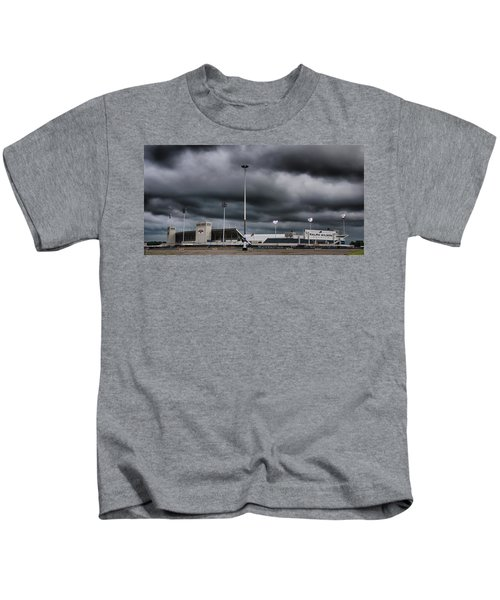 Ralph Wilson Stadium 5803 Kids T-Shirt
