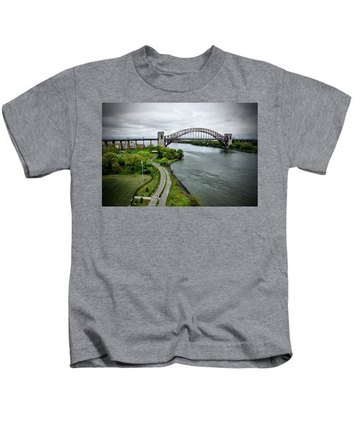 Randall's Island To Hellgate Kids T-Shirt