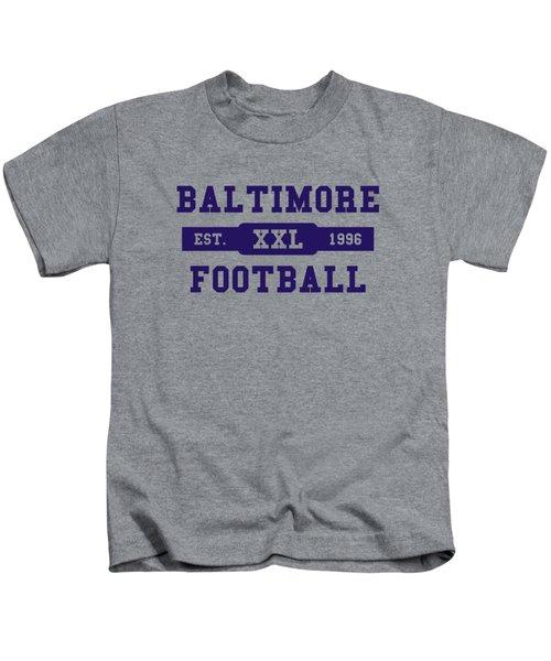 Ravens Retro Shirt Kids T-Shirt by Joe Hamilton
