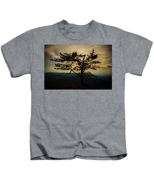 Ravens Roost Hdr Kids T-Shirt