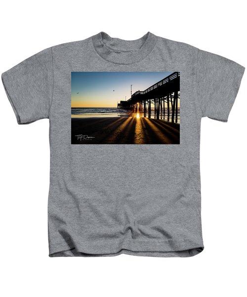 Rays Of Evening Kids T-Shirt