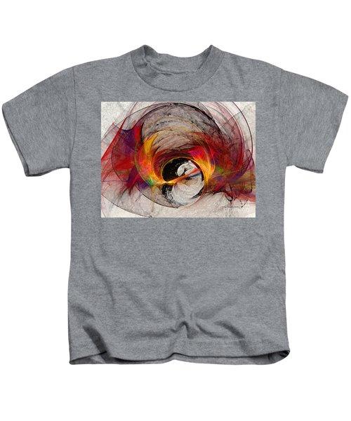 Reaction Abstract Art Kids T-Shirt