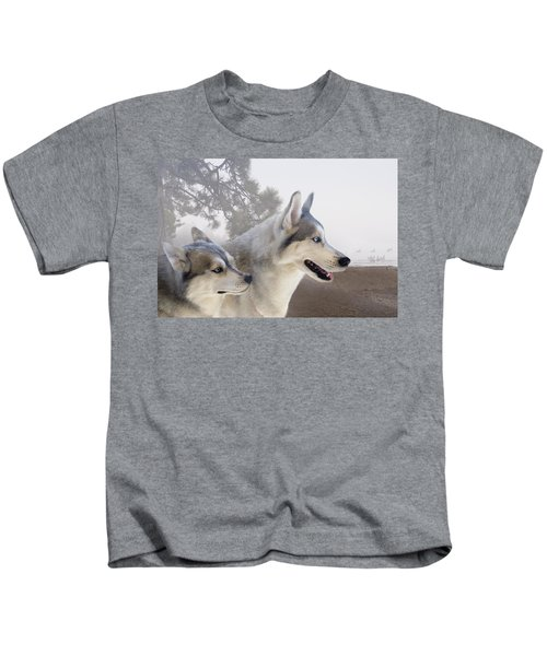 Ready Forthe Chase Kids T-Shirt