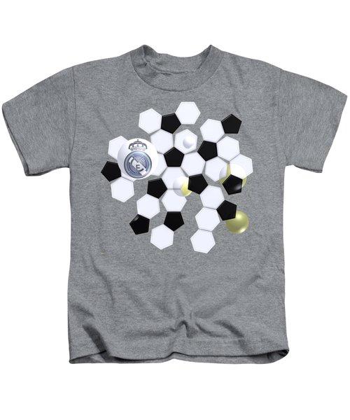 Real Madrid In Football Sky Kids T-Shirt