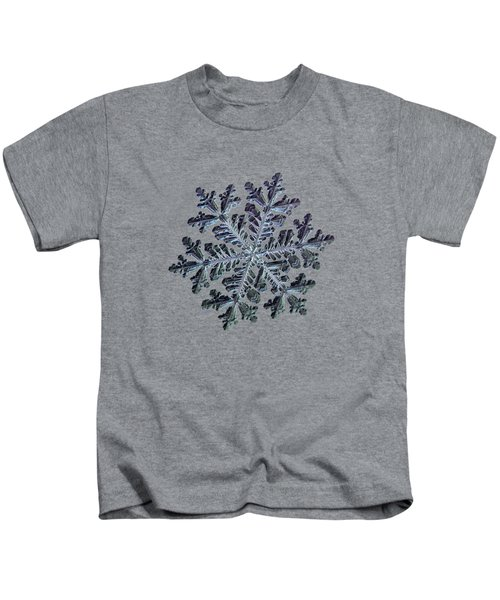 Real Snowflake - Hyperion Dark Kids T-Shirt