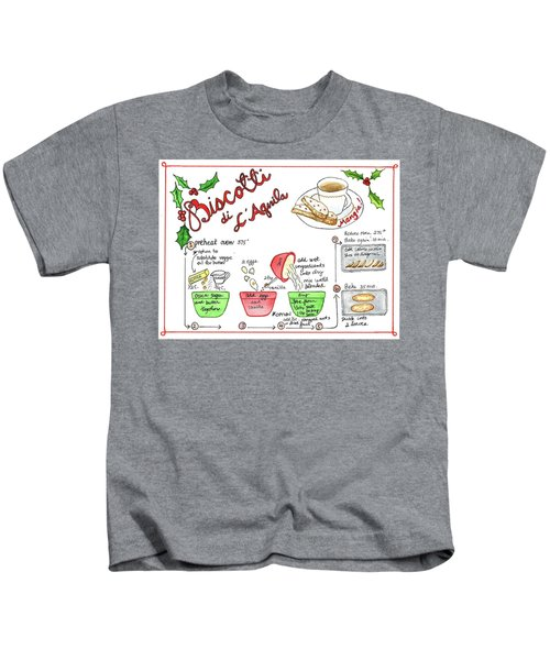 Recipe Biscotti Kids T-Shirt
