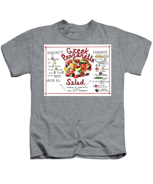 Recipe- Panzanella Salad Kids T-Shirt