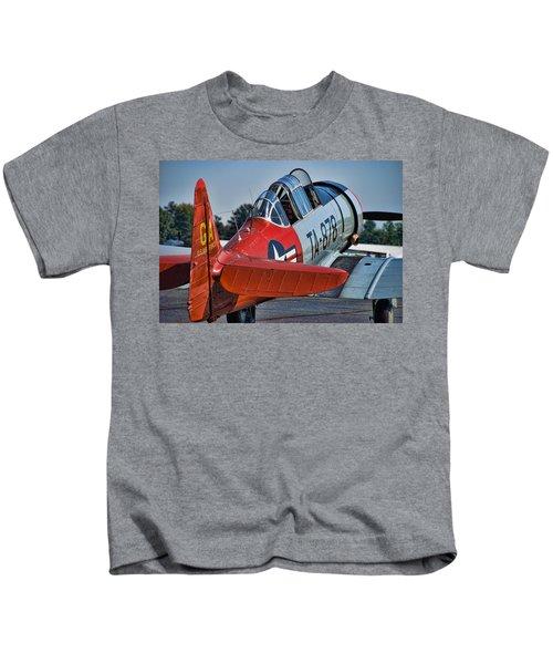 Red At-6 Kids T-Shirt