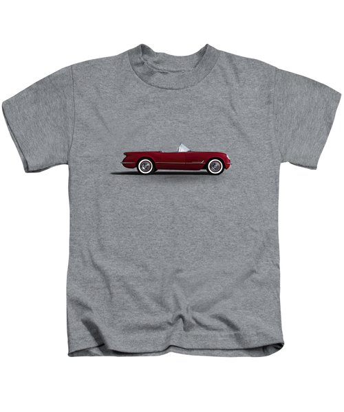 Red C1 Convertible Kids T-Shirt