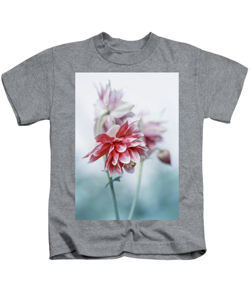 Red Columbines Kids T-Shirt