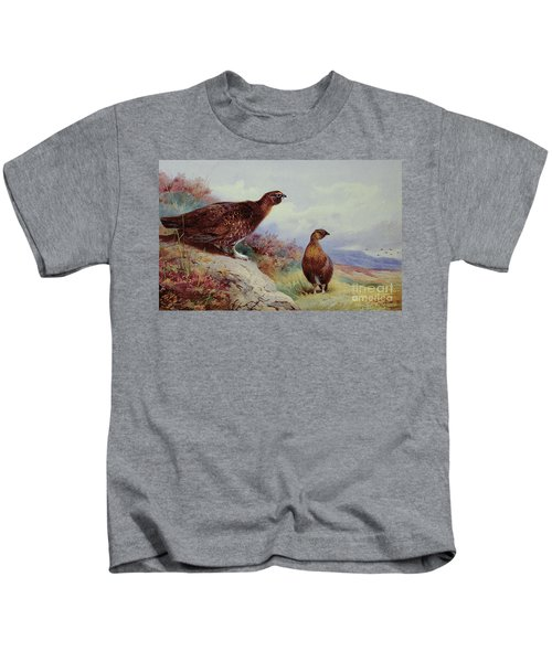 Red Grouse On The Moor, 1917 Kids T-Shirt
