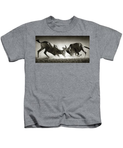 Red Hartebeest Dual In Dust Kids T-Shirt