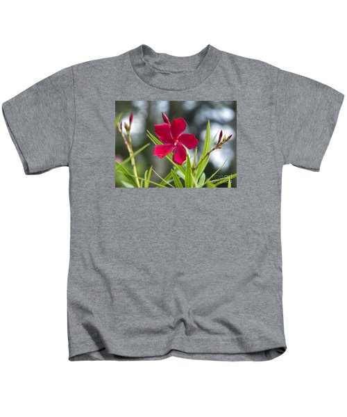 Red Hibiscus, Sri Lanka Kids T-Shirt