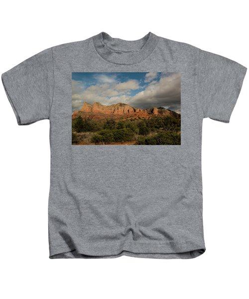 Red Rock Country Sedona Arizona 3 Kids T-Shirt by David Haskett