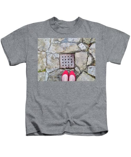 Red Shoes Kids T-Shirt